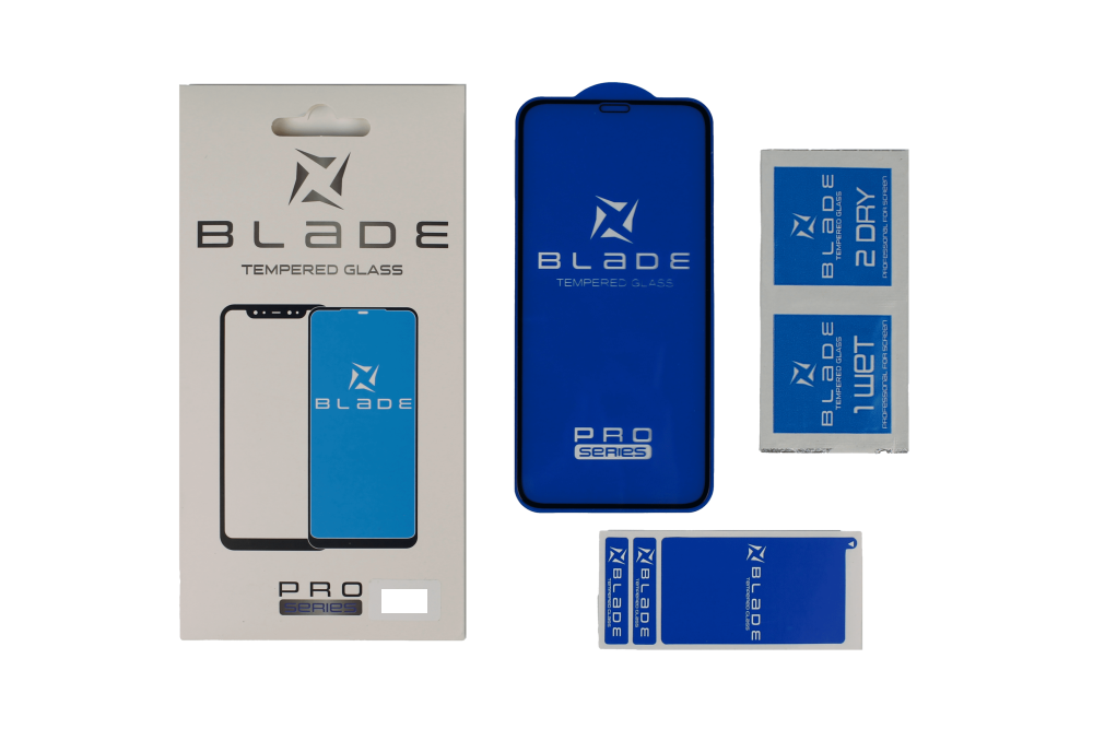 Захисне скло BLADE PRO Series Full Glue iPhone X / Xs / 11 Pro (black)
