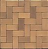 Клинкерная брусчатка MUHR  06 Светло-коричневый пестрый
