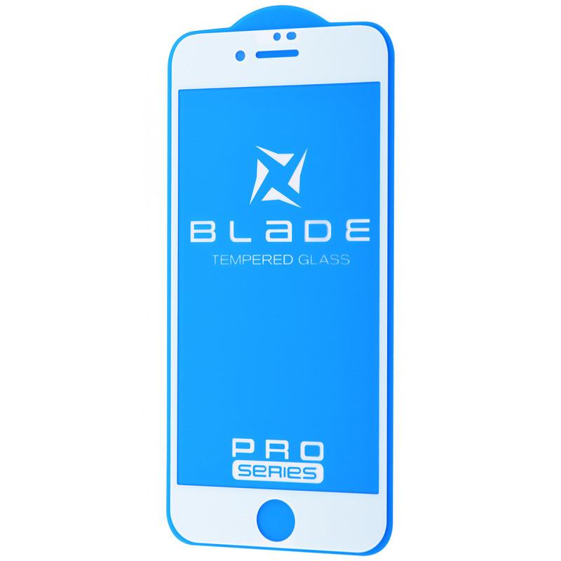 Захисне скло BLADE PRO Series Full Glue iPhone 6 / 6s (white)