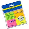 Стикеры для заметок неон Buromax BM.2324-98 38х51мм 4 цвета