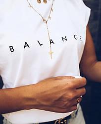 """Футболка женская """"Balance"""""""