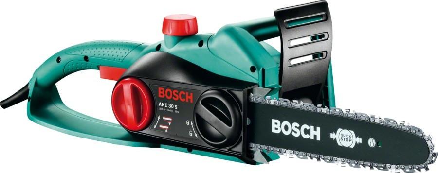 Электропила цепная Bosch AKE 30 S (1.8 кВт, 300 мм) (0600834400)