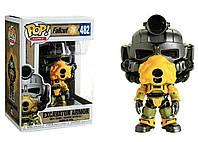 Фигурка Funko Pop Fallout Excavator armor Фаллаут Экскаваторная броня 10 см F EA482