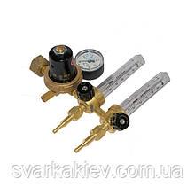 Регулятор витрати АР-40/В-30-2ДМ з 2 ротаметрами