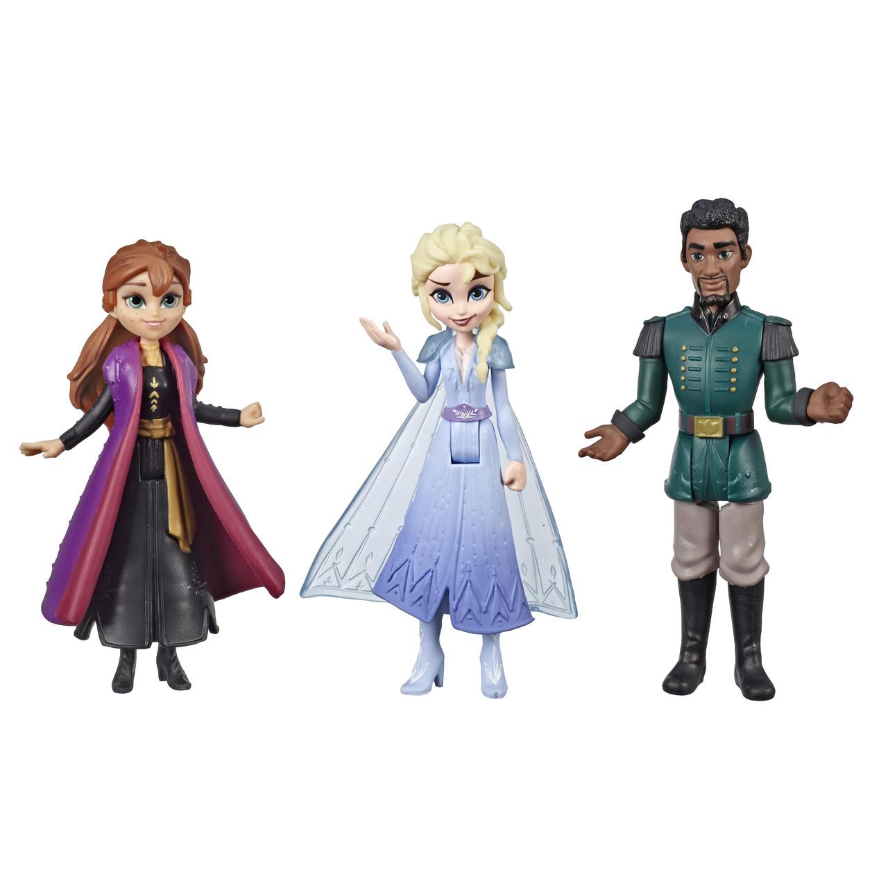 Hasbro Набор игровой Холодное сердце 2 Эльза, Анна и Маттиас FROZEN