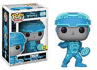 Фигурка Funko Pop Фанко Поп Трон Светится в темноте Трон Tron Glows Tron 10 см Movies TT 489