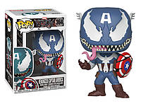 Фигурка Funko Pop Marvel Venom Captain America Марвел Веном Капитан Америка Movies CA V364