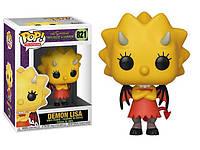 Фигурка Funko Pop Фанко Поп Симпсоны Демон Лиза Simpsons Demon Lisa 10 см S DL 821