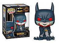 Фигурка Funko Pop Фанко Поп Бэтмен 80-х Бэтмен Красный дождь Batman 80th Red Rain Batman 10 см B RRB 286