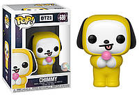 Фигурка Funko Pop Фанко Поп БТС Б21 Чими BTS BT21 Chimmy 10 см BT C 686