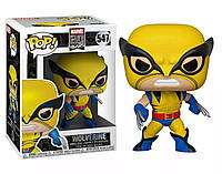 Фигурка Funko Pop Фанко Поп Марвел 80-х Росомаха Marvel 80th Wolverine 10 см XM W 547