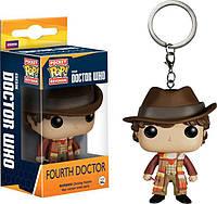 Фигурка брелок Funko Pop Фанко Поп Доктор Кто Четвёртый Доктор Doctor Who Fourth Doctor 4 см DW FD