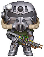 Фигурка Funko Pop Fallout T-51 Power Armor Фаллаут Силовая броня Т-51 10 см F PA370