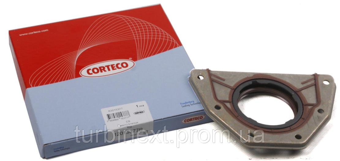 Сальник коленвала (задній) Fiat Doblo 1.6 16V 01- (64x167x20) CORTECO 12015377B