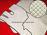 Ковры экокожа на VOLVO FH 2008- Механика бежевые в кабину.