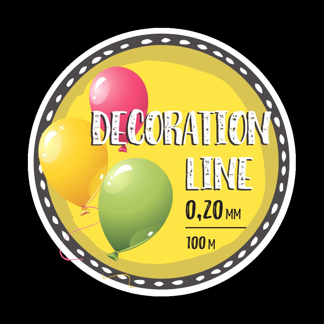 Леска Decoration Line 0,20 мм (100м)
