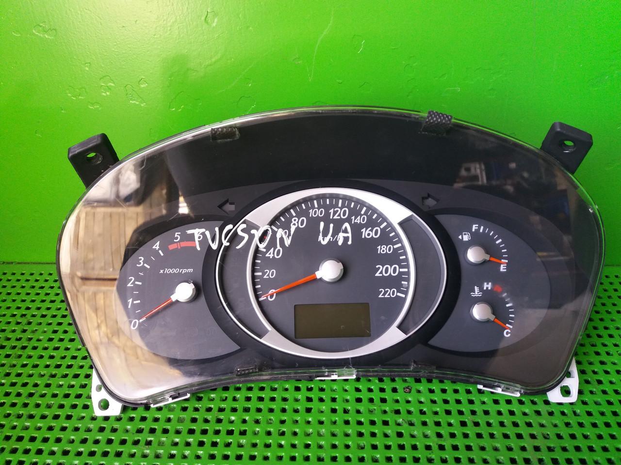 Б/у панель приладів/спідометр/тахограф/топограф для Hyundai Tucson 2008 p. 2.0 CRDI L42 CGZ 94023-2E420 11001-