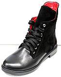 Ботинки женские демисезонные на низком каблуке от производителя модель ДР1018-1, фото 2