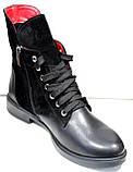 Ботинки женские демисезонные на низком каблуке от производителя модель ДР1018-1, фото 4