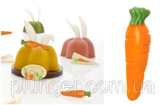 Шоколадный декор для кондитерских изделий Морковка