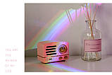 Ночник-светильник Ракушка проектор радуги Rainbow  Код 13-7807, фото 8
