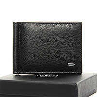 Мужской кожаный кошелек с магнитным зажимом для банкнот DR. BOND (11*8,5*2см) MZS-3 black