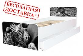 Подростковая кровать Беверли, 17 рисунков. 190х80