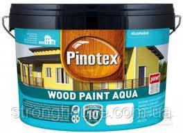 Pinotex WOOD PAINT AQUA BW 9л Краска Пинотекс Вуд Пейнт Аква