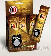 """Кава """"Royal Armenia Strong"""" розчинна, 3 в одному"""