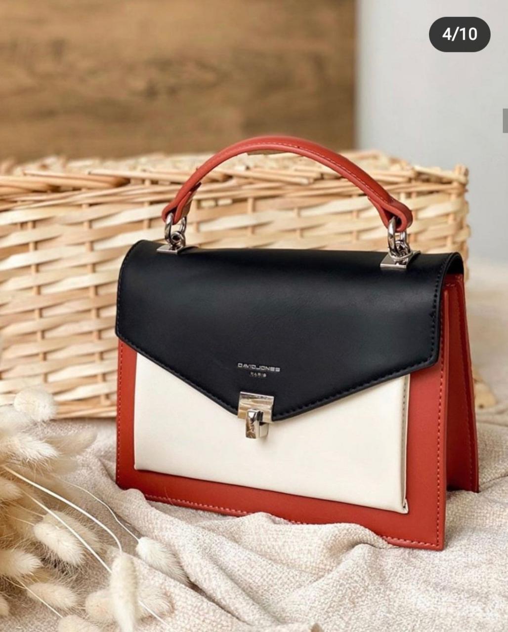 Женская сумка клатч David Jones, черный / Дэвид Джонс / жіноча сумка