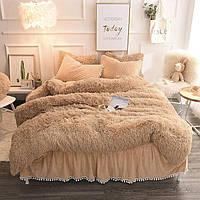 Плед- одеяло меховое, травка с наполнителем холофайбер 220/240 см