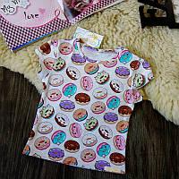 Детская футболка пончики Five Stars KD0297-110p