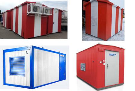 Контейнери  для генераторів та обладнання