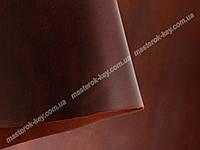 Кожа натуральная Крейзи Хорс т.1,4-1,6мм цвет коньяк