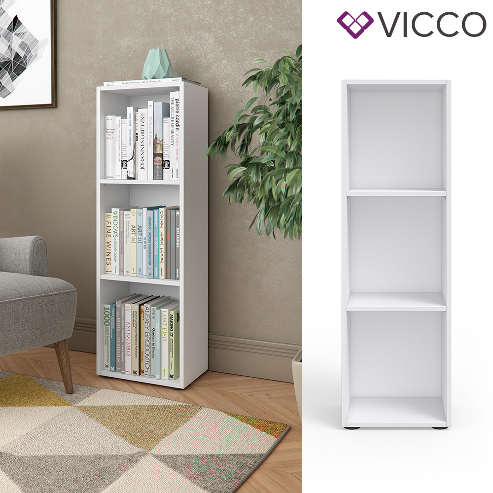 Открытый шкаф 35x114 Vicco, белый