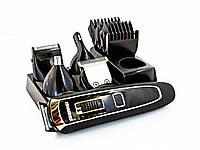 ✂ Новинка 2020!Аккумуляторный Триммер машинка для стрижки волос бритья бороды носа ушей 5 в 1 Gemei | AG410165