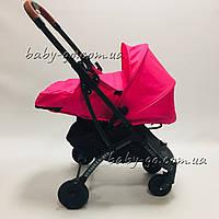 Коляска YOYA plus Pro + блок для новорожденных Розовая