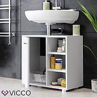 Vicco шкаф под умывальник Perry, тумба под раковину, 60x56, цвет белый