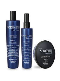 Уход для выпрямленных и химически поврежденных волос KERATERM HAIR RITUAL