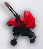 Коляска YOYA plus Pro + блок для новорожденных Красный