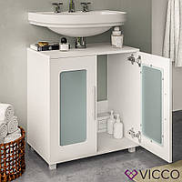 Vicco шкаф под умывальник Rayk, тумба под раковину, 58x60, цвет белый