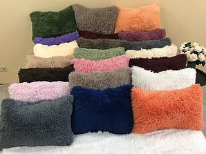 Пушистая подушка - травка, 50/50 см , цвета разные