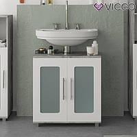 Vicco шкаф под умывальник Rayk, тумба под раковину, 58x60, цвет бетон