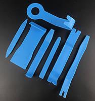 Инструменты для снятия обшивки (облицовки) авто (7 шт).