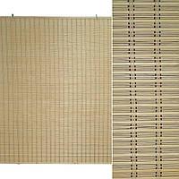 Ролеты из бамбуковой соломки debel 180х200 см натуральные (48304.001)