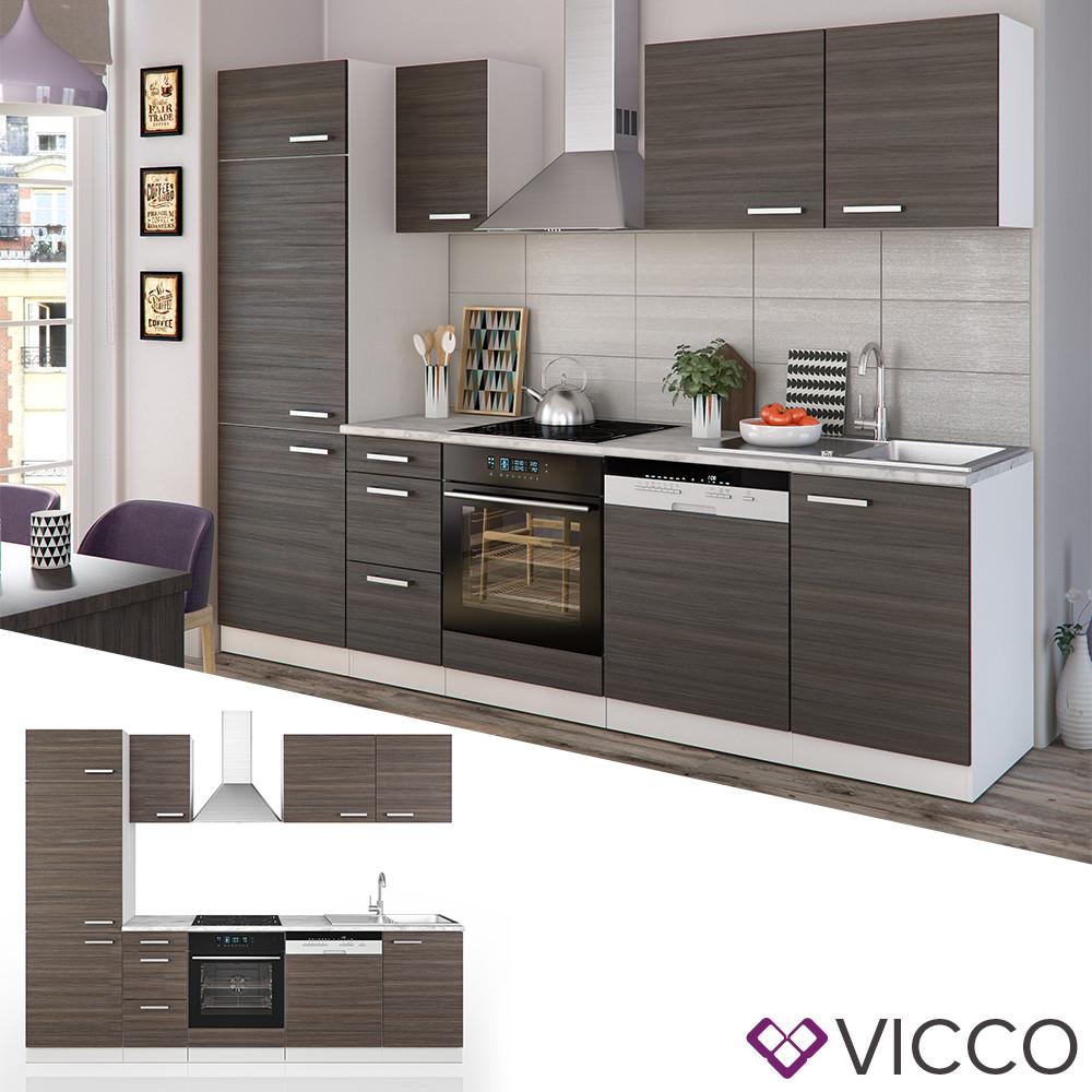 Кухонный гарнитур 270 см Vicco Optima, даккар