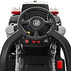 Детский электромобиль - толокар M 4110-2  Грузовик черный, фото 8