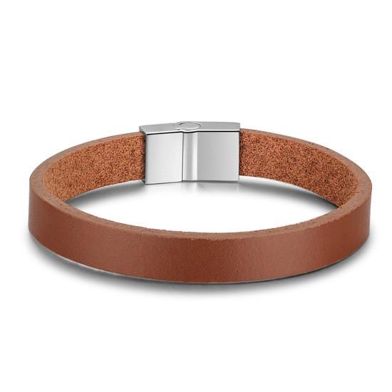 """Кожаный браслет с магнитной застежкой """"La Brown"""""""