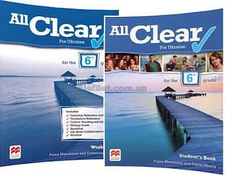 Английский язык /All Clear for Ukraine/ Student's+Workbook. Учебник+Тетрадь (комплект), 2/ Macmillan