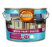 Pinotex WOOD PAINT DUO VX+ BW 10л Краска Пинотекс Вуд Пейнт Дуо